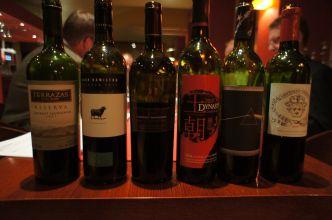 Viiniritarien tasting Kirjaklubi 140312