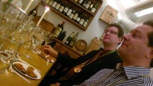 Viiniritarien tasting 16.11.2012