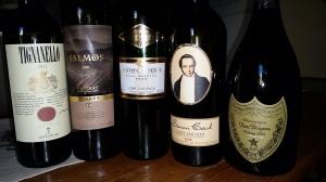 Viiniritareiden tasting 081015